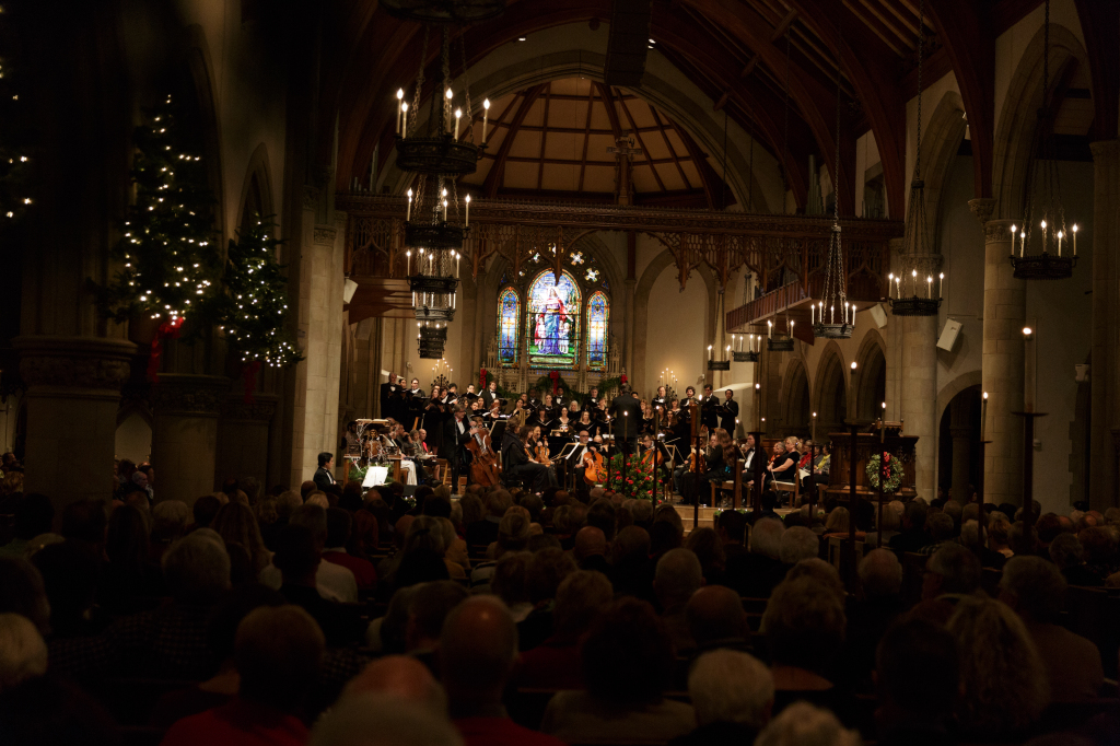 Holiday Candlelight Audience
