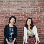 Mihyang and  Esther Keel
