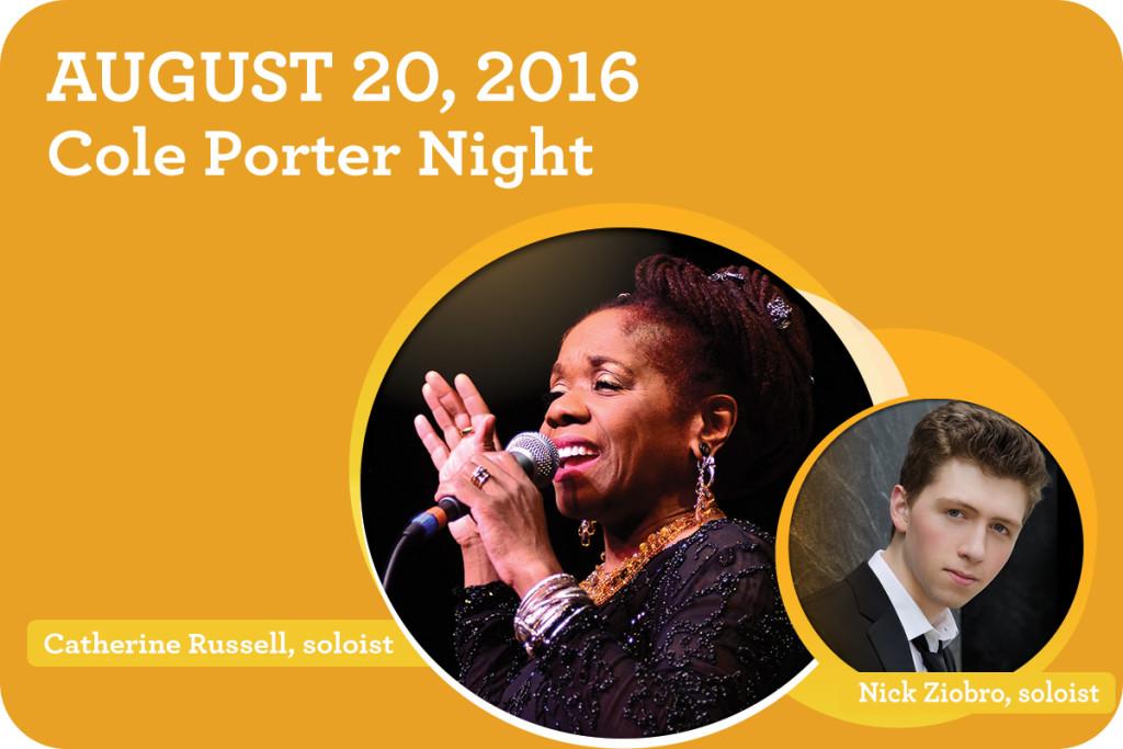 Cole Porter Night tickets