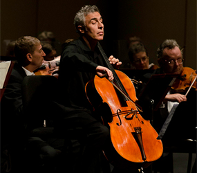 Mozart Symphony - David Lockington, cello