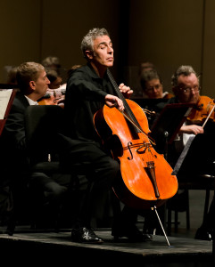 David Lockington, conductor and cellist
