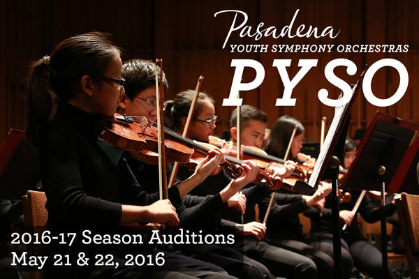 PYSO Auditions