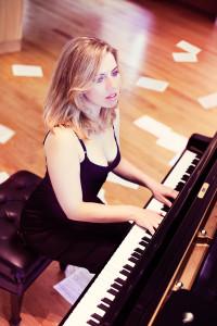 Natasha playing piano