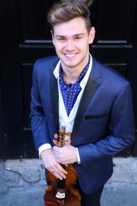 Blake Pouliot, violin