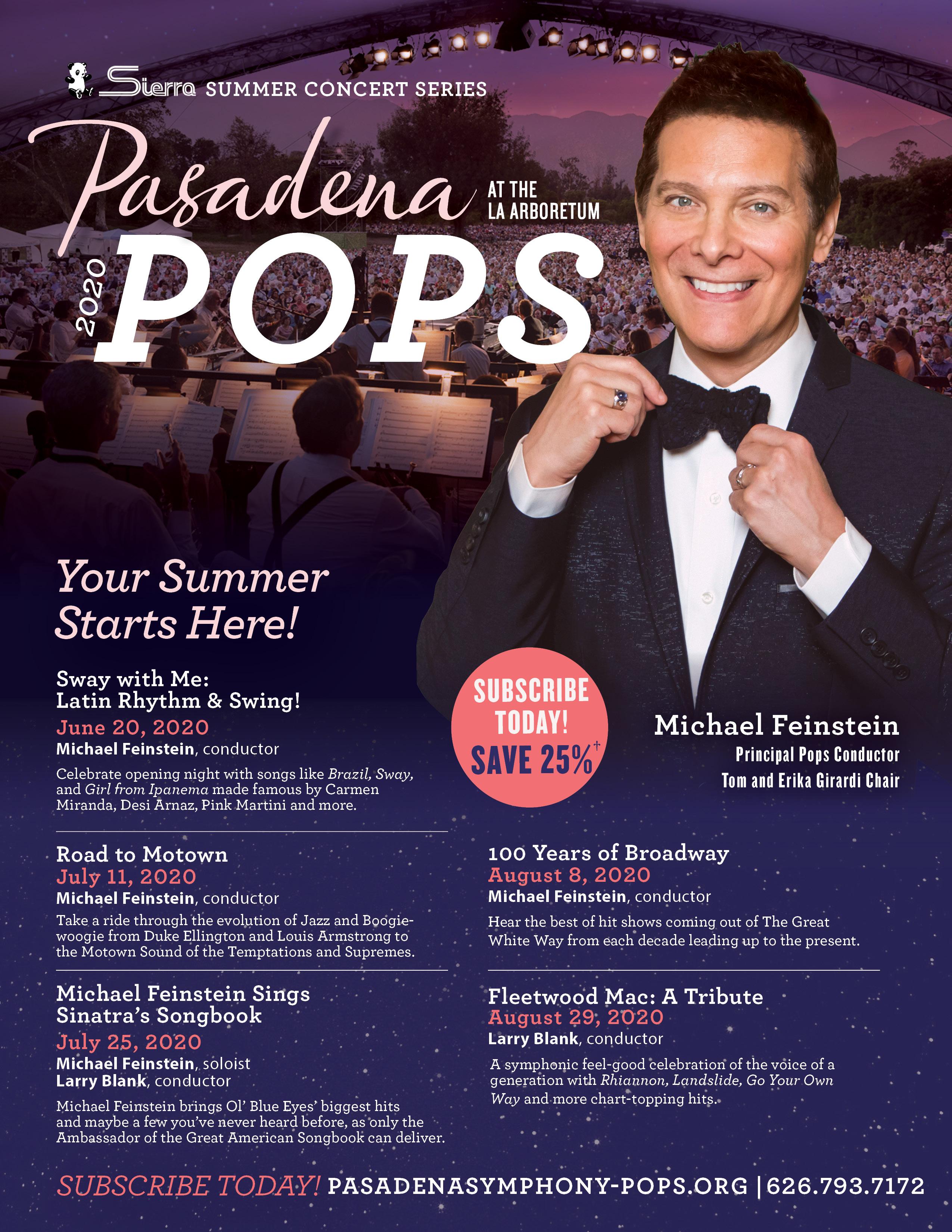Best Summer Concerts 2020 2019 Sierra Summer Pops Series