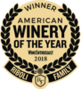 wine of the year badge